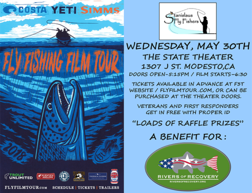 Join Us on May 30 for the Fly Fishing Film Tour in Modesto, California