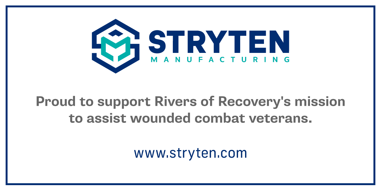 Stryten Manufacturing Supports Rivers of Recovery's Mission to Assist Wounded Combat Veterans